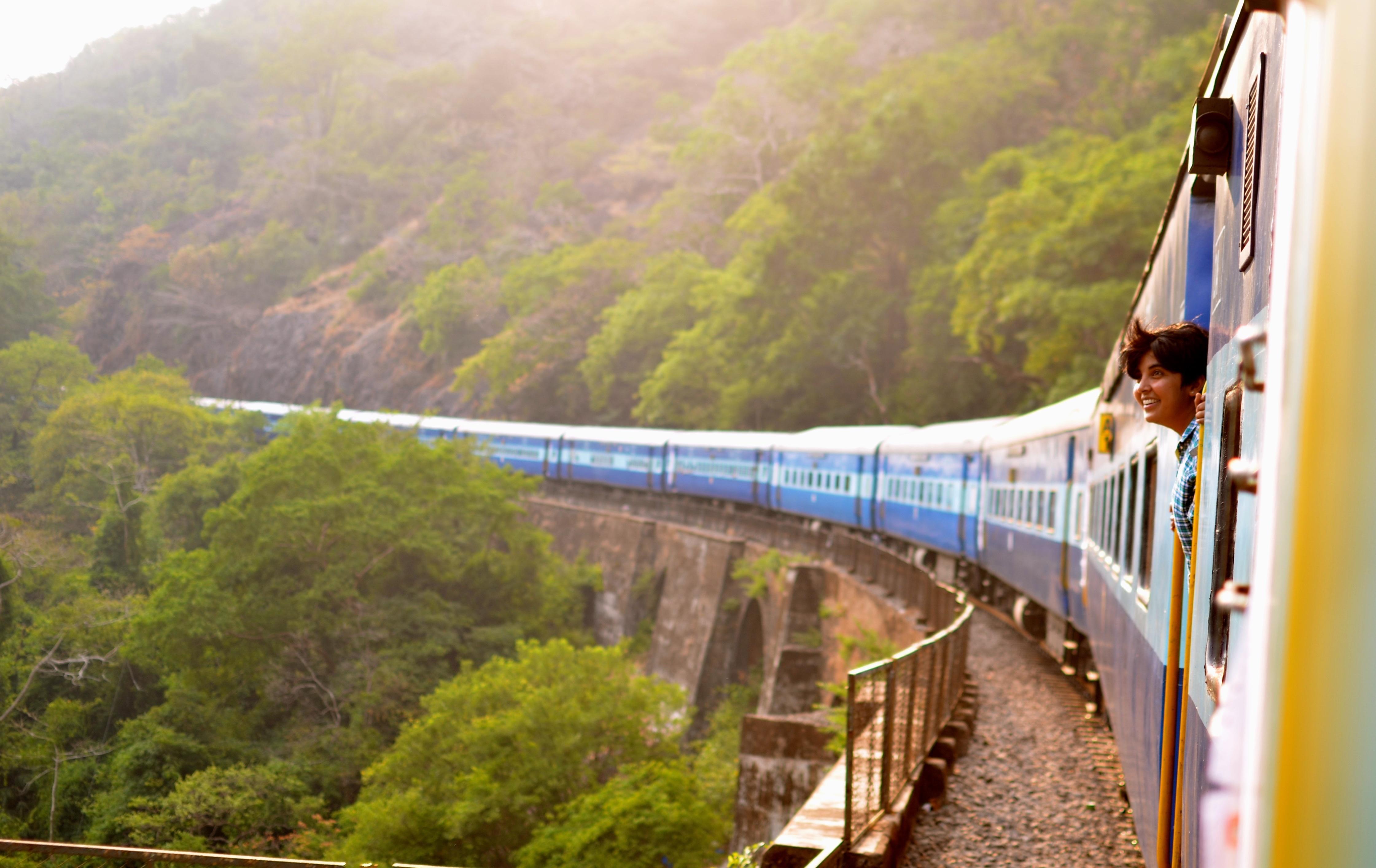 Passes de trem, viagem de trem