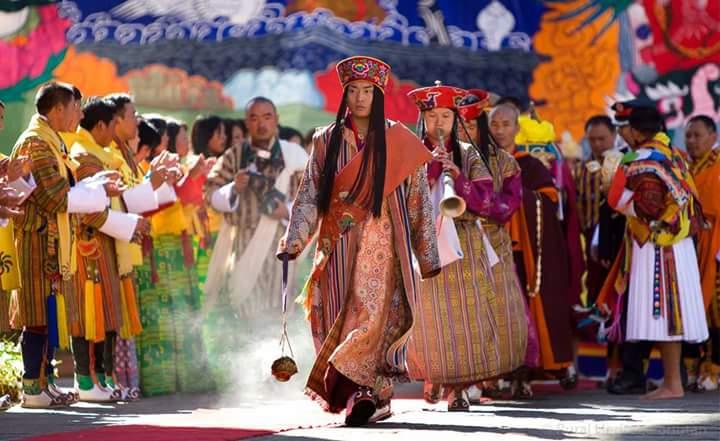 Butão (Festivais no Butão. Foto por Nizgir Wangchuk)