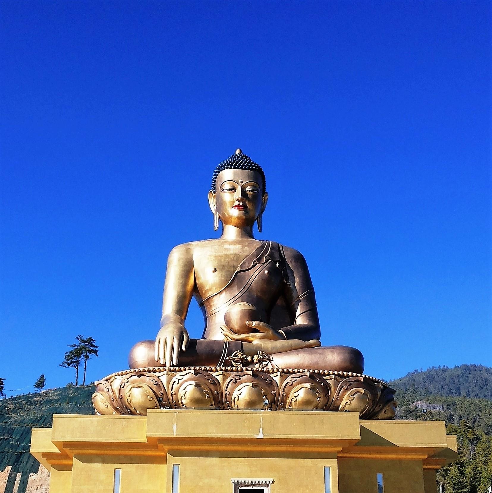 Como a chegada ao Butão é por Paro, o caminho até Thimphu é, normalmente, a sua primeira impressão do país.