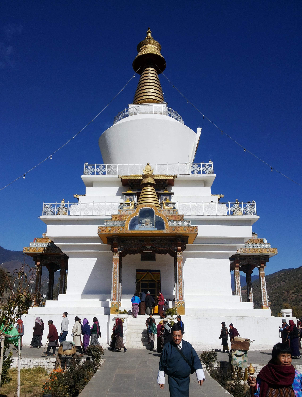 Monumento Religioso em Thimphu.