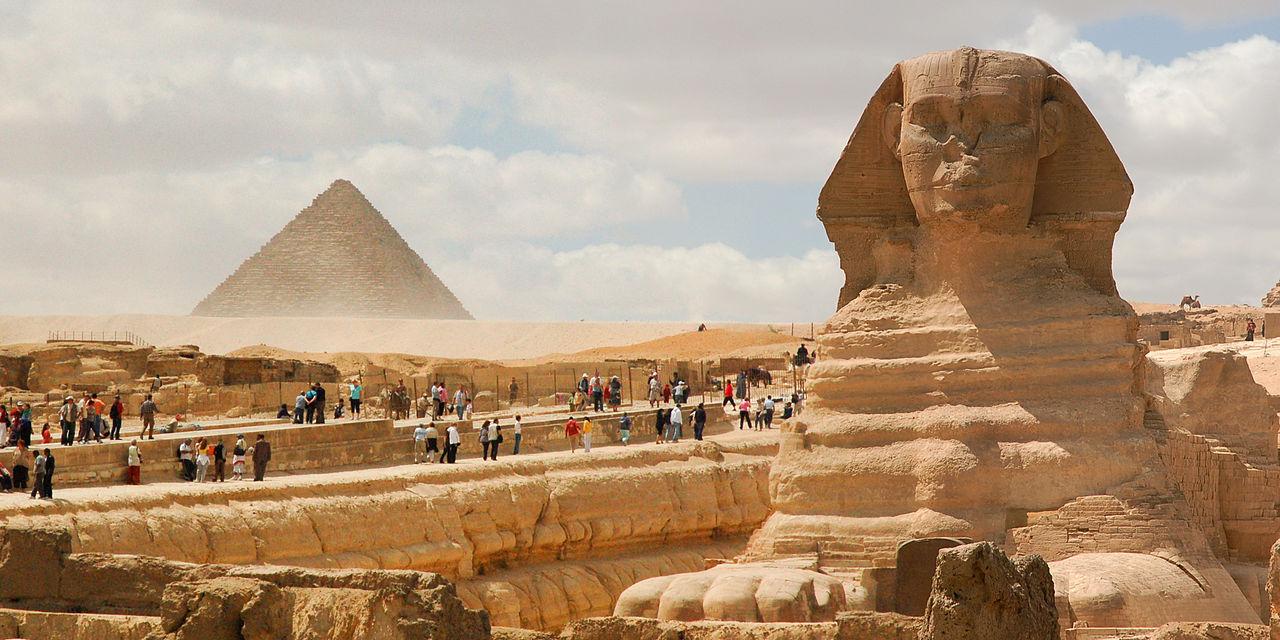 Pacote de viagem para o Egito