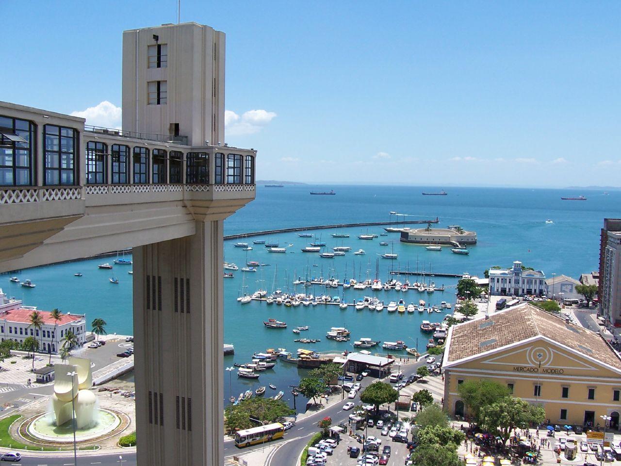 Elevador Lacerda. Viagem Salvador, Bahia. Foto: Ana Arantes
