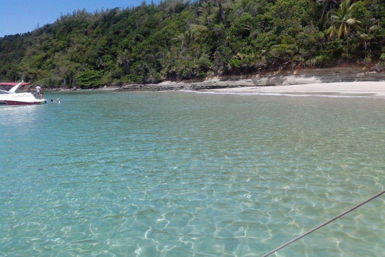 Passeio de Lancha na Ilha dos Frades. Viagem Salvador, Bahia. Foto: Ana Arantes.
